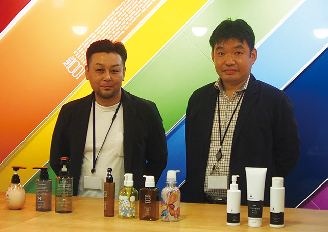 株式会社nijito IT推進部 部長 石橋 様とharu事業部兼新ブランド開発部 部長 古賀 様